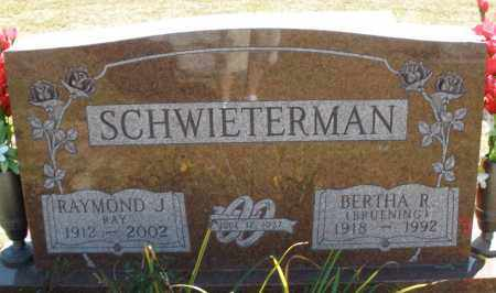 SCHWIETERMAN, BERTHA R. - Darke County, Ohio | BERTHA R. SCHWIETERMAN - Ohio Gravestone Photos