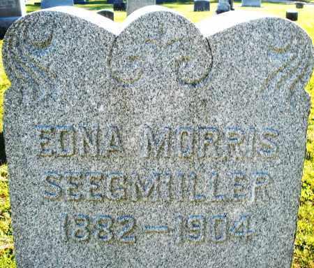 MORRIS SEEGMILLER, EDNA - Darke County, Ohio | EDNA MORRIS SEEGMILLER - Ohio Gravestone Photos