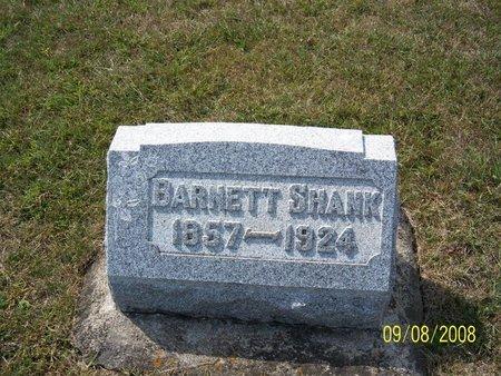 SHANK, BARNETT - Darke County, Ohio | BARNETT SHANK - Ohio Gravestone Photos