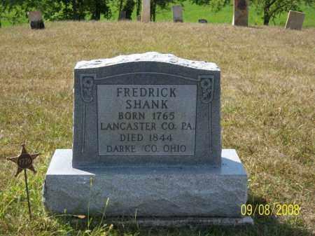 SHANK, FREDRICK - Darke County, Ohio | FREDRICK SHANK - Ohio Gravestone Photos