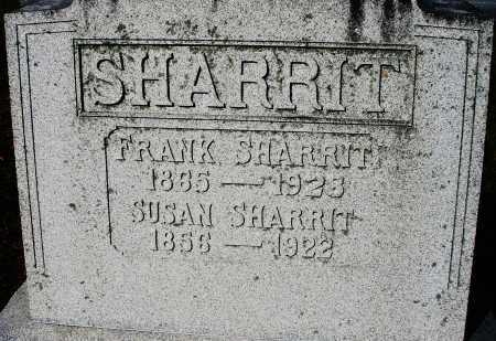 SHARRIT, FRANK - Darke County, Ohio | FRANK SHARRIT - Ohio Gravestone Photos