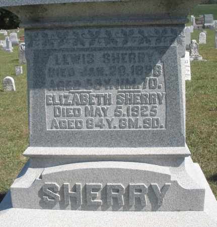 SHERRY, ELIZABETH - Darke County, Ohio | ELIZABETH SHERRY - Ohio Gravestone Photos