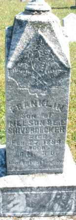 SHIVERDECKER, FRANKLIN - Darke County, Ohio | FRANKLIN SHIVERDECKER - Ohio Gravestone Photos