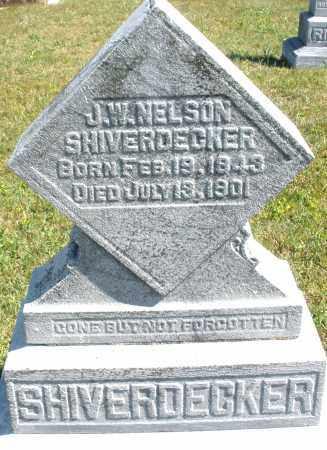 SHIVERDECKER, J.W. NELSON - Darke County, Ohio | J.W. NELSON SHIVERDECKER - Ohio Gravestone Photos