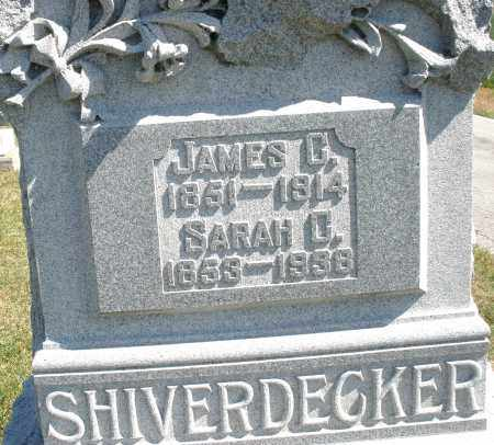 SHIVERDECKER, JAMES - Darke County, Ohio | JAMES SHIVERDECKER - Ohio Gravestone Photos