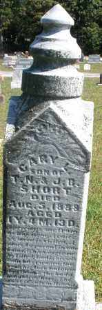 SHORT, GARY L. - Darke County, Ohio | GARY L. SHORT - Ohio Gravestone Photos