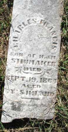 SHUMAKER, CHARLES FRANCIS - Darke County, Ohio | CHARLES FRANCIS SHUMAKER - Ohio Gravestone Photos
