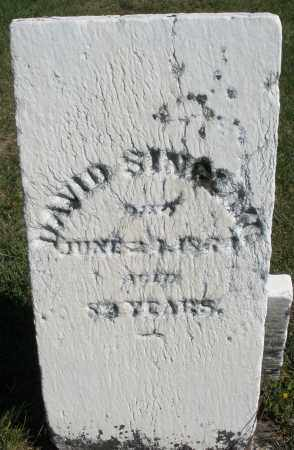 SINGLAM ?, DAVID - Darke County, Ohio | DAVID SINGLAM ? - Ohio Gravestone Photos