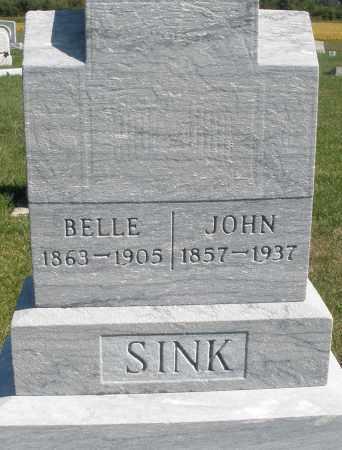 SINK, BELLE - Darke County, Ohio | BELLE SINK - Ohio Gravestone Photos