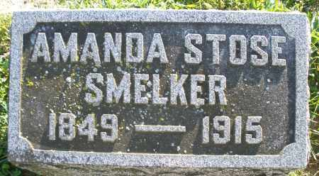 STOSE SMELKER, AMANDA - Darke County, Ohio | AMANDA STOSE SMELKER - Ohio Gravestone Photos