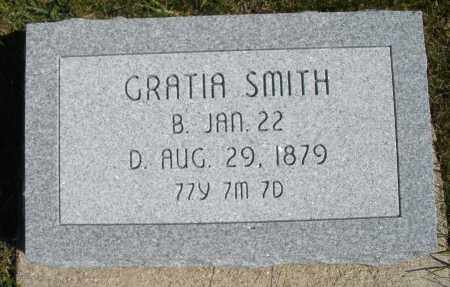 SMITH, GRATIA - Darke County, Ohio | GRATIA SMITH - Ohio Gravestone Photos