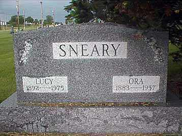 SNEARY, ORA - Darke County, Ohio | ORA SNEARY - Ohio Gravestone Photos
