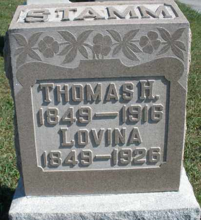 STAMM, THOMAS H. - Darke County, Ohio | THOMAS H. STAMM - Ohio Gravestone Photos