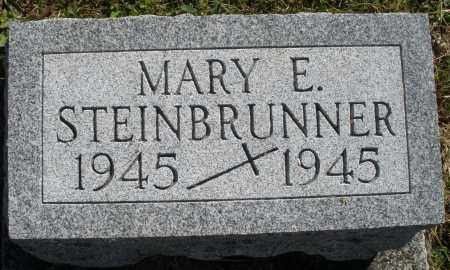STEINBRUNNER, MARY E. - Darke County, Ohio | MARY E. STEINBRUNNER - Ohio Gravestone Photos