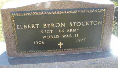 STOCKTON, ELBERT BYRON - Darke County, Ohio | ELBERT BYRON STOCKTON - Ohio Gravestone Photos