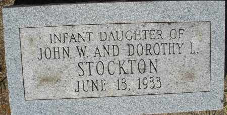 STOCKTON, INFANT DAUGHTER - Darke County, Ohio | INFANT DAUGHTER STOCKTON - Ohio Gravestone Photos