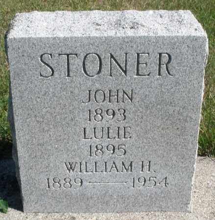 STONER, WILLIAM H. - Darke County, Ohio | WILLIAM H. STONER - Ohio Gravestone Photos