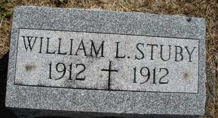 STUBY, WILLIAM L. - Darke County, Ohio | WILLIAM L. STUBY - Ohio Gravestone Photos