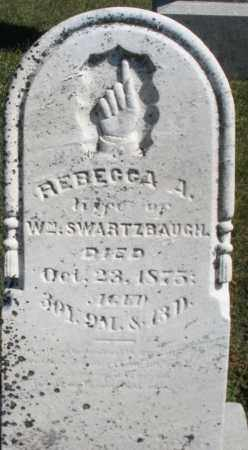 SWARTZBAUGH, REBECCA A. - Darke County, Ohio | REBECCA A. SWARTZBAUGH - Ohio Gravestone Photos