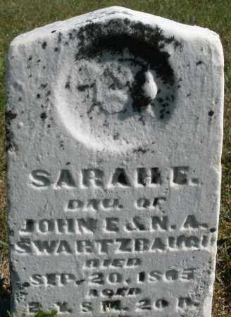 SWARTZBAUGH, SARAH E. - Darke County, Ohio | SARAH E. SWARTZBAUGH - Ohio Gravestone Photos