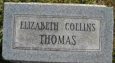 THOMAS, ELIZABETH - Darke County, Ohio | ELIZABETH THOMAS - Ohio Gravestone Photos
