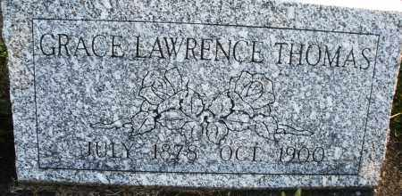 LAWRENCE THOMAS, GRACE - Darke County, Ohio | GRACE LAWRENCE THOMAS - Ohio Gravestone Photos