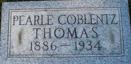 COBLENTZ THOMAS, PEARLE - Darke County, Ohio | PEARLE COBLENTZ THOMAS - Ohio Gravestone Photos