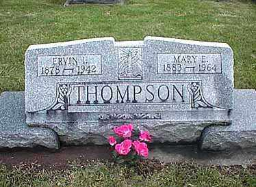 THOMPSON, ERVIN I. - Darke County, Ohio | ERVIN I. THOMPSON - Ohio Gravestone Photos