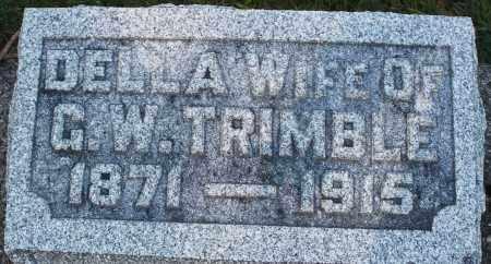 TRIMBLE, DELLA - Darke County, Ohio | DELLA TRIMBLE - Ohio Gravestone Photos