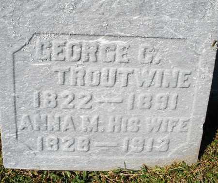 TROUTWINE, ANNA M. - Darke County, Ohio | ANNA M. TROUTWINE - Ohio Gravestone Photos