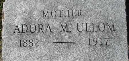 ULLOM, ADORA M. - Darke County, Ohio | ADORA M. ULLOM - Ohio Gravestone Photos