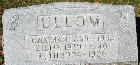 ULLOM, LILLIE - Darke County, Ohio | LILLIE ULLOM - Ohio Gravestone Photos