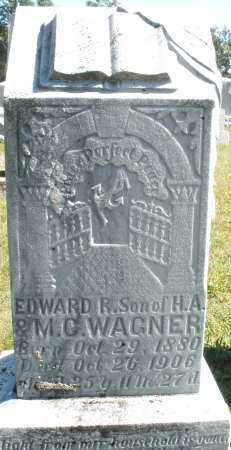 WAGNER, EDWARD R. - Darke County, Ohio | EDWARD R. WAGNER - Ohio Gravestone Photos