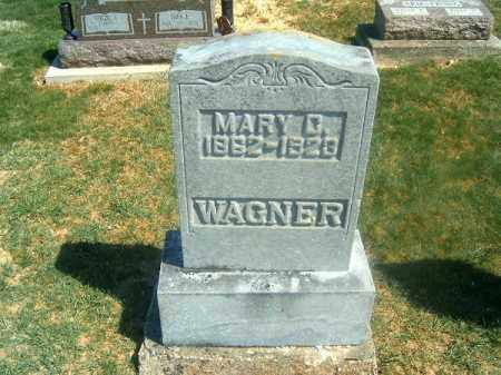 WAGNER, MARY    C - Darke County, Ohio | MARY    C WAGNER - Ohio Gravestone Photos