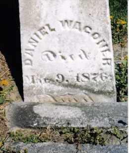 WAGONER, DANIEL - Darke County, Ohio | DANIEL WAGONER - Ohio Gravestone Photos