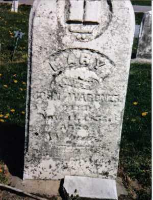 WAGONER, MARY - Darke County, Ohio | MARY WAGONER - Ohio Gravestone Photos