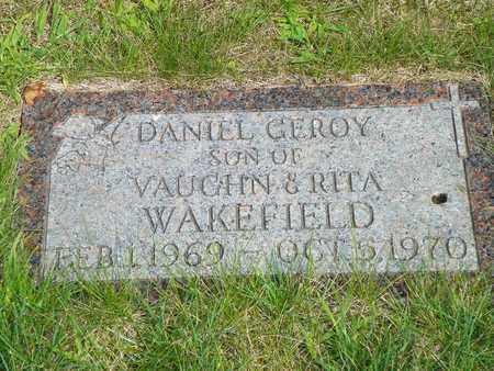 WAKEFIELD, DANIEL GEROY - Darke County, Ohio | DANIEL GEROY WAKEFIELD - Ohio Gravestone Photos