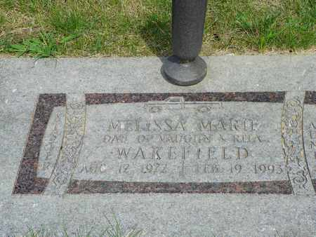 WAKEFIELD, MELISSA MARIE - Darke County, Ohio | MELISSA MARIE WAKEFIELD - Ohio Gravestone Photos
