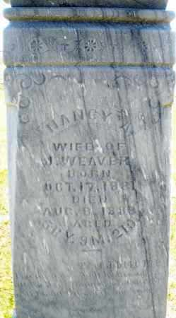 WEAVER, NANCY A. - Darke County, Ohio | NANCY A. WEAVER - Ohio Gravestone Photos