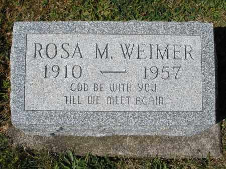 WEIMER, ROSA M. - Darke County, Ohio | ROSA M. WEIMER - Ohio Gravestone Photos