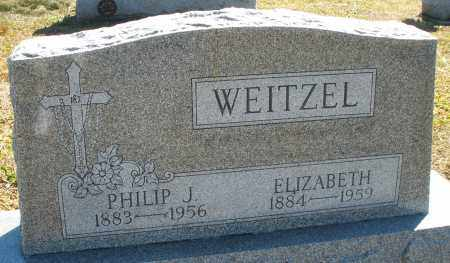 WEITZEL, ELIZABETH - Darke County, Ohio | ELIZABETH WEITZEL - Ohio Gravestone Photos