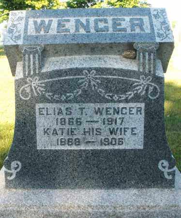 WENGER, KATIE - Darke County, Ohio | KATIE WENGER - Ohio Gravestone Photos