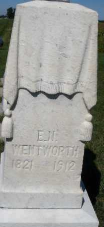 WENTWORTH, E.N. - Darke County, Ohio | E.N. WENTWORTH - Ohio Gravestone Photos