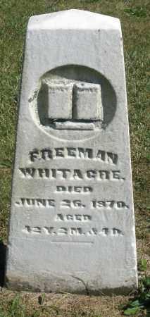 WHITACRE, FREEMAN - Darke County, Ohio | FREEMAN WHITACRE - Ohio Gravestone Photos