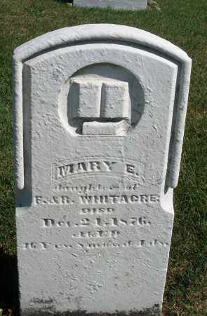 WHITACRE, MARY E. - Darke County, Ohio | MARY E. WHITACRE - Ohio Gravestone Photos