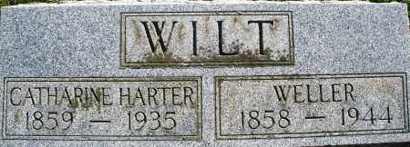 HARTER WILT, CATHARINE - Darke County, Ohio | CATHARINE HARTER WILT - Ohio Gravestone Photos