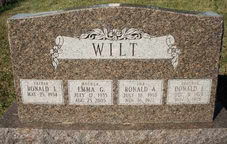 WILT, DONALD - Darke County, Ohio | DONALD WILT - Ohio Gravestone Photos