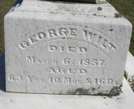 WILT, GEORGE - Darke County, Ohio | GEORGE WILT - Ohio Gravestone Photos
