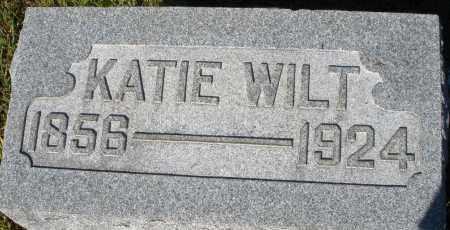WILT, KATIE - Darke County, Ohio | KATIE WILT - Ohio Gravestone Photos