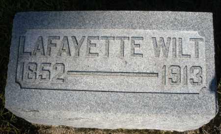 WILT, LAFAYETTE - Darke County, Ohio | LAFAYETTE WILT - Ohio Gravestone Photos